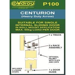 SLIDING DOOR TRACK CENTURION H/D 915MM
