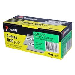 PASLODE 75MM JDN HD GAL BOX1000