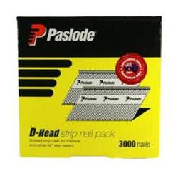 PASLODE 75X3.06 M/GAL DH NAILS BOX 3000