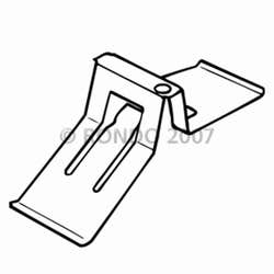 TILE HOLD DOWN CLIP 10-16MM