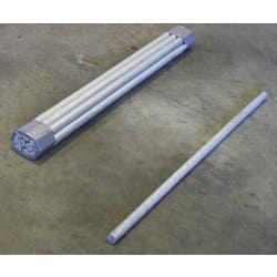 DOWEL BAR GAL 12MM X 450MM