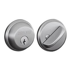 SCHLAGE DEADBOLT SINGLE CYLINDER SCP