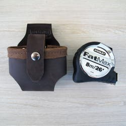 LEATHER TAPE HOLDER TUNNEL CLIP ON