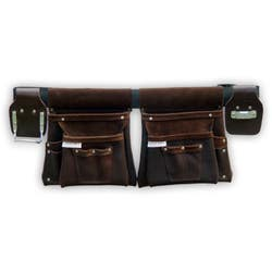 TRADE TIME TOOL BAG 100 DBLE 4 POUCHES