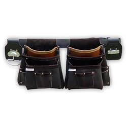 TRADE TIME TOOL BAG 100DX DBLE 6 POUCHES