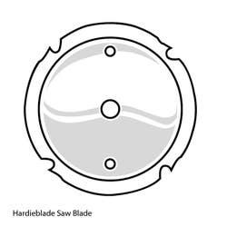 HARDIEBLADE 185MM (7 1/4) FC SAW BLADE