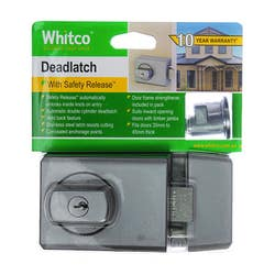 DEADLATCH WITH TIMBER FRAME STRIKE DP SC