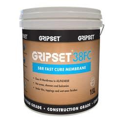 GRIPSET 38FC SBR FAST CURE WATERPROOFING MEMBRANE 15L