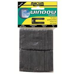 PACKER WINDOW 10MM X 75MM PK 25