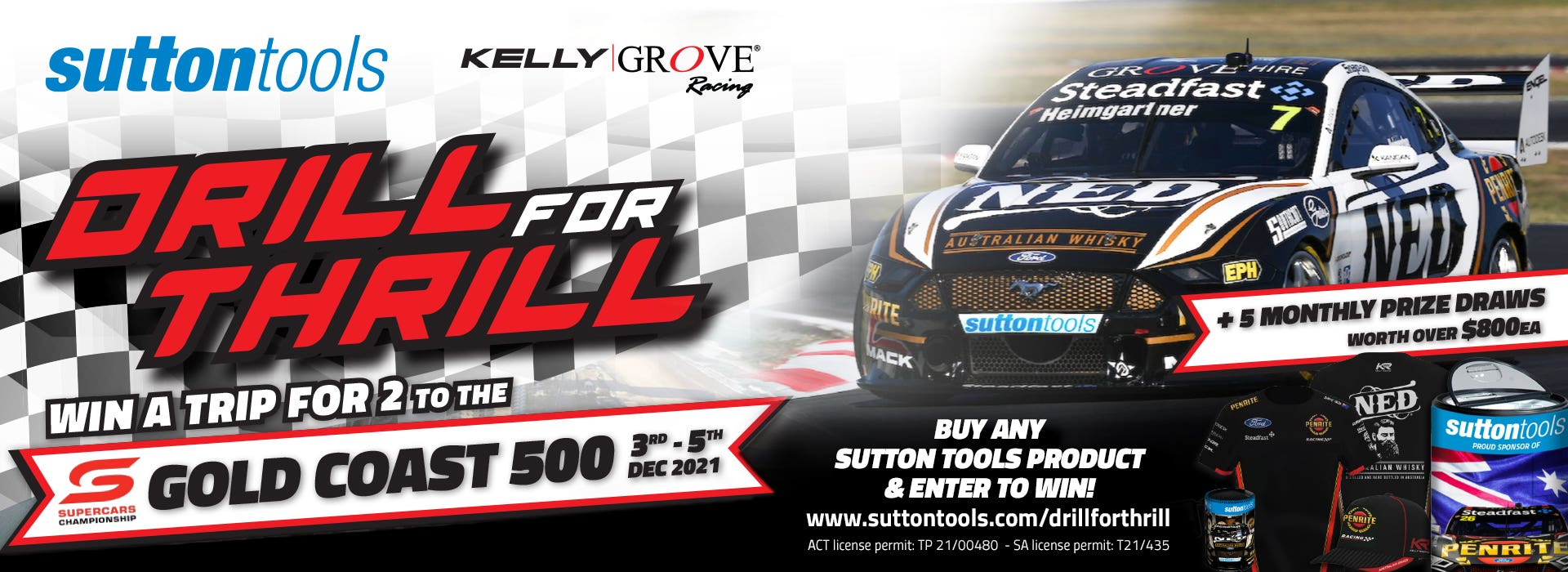 Sutton Tools Drill for Thrill - D