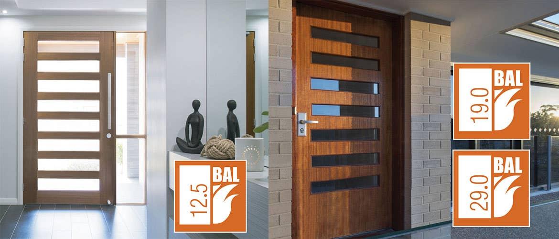 Hume Doors Bushfire Resistant Door Range