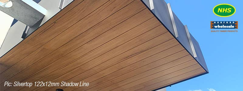 The timber hardwood lining board solution for an indoor or alfresco area
