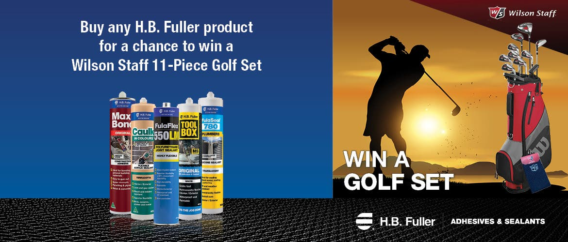 WIN a Golf Set courtesy of HB Fuller