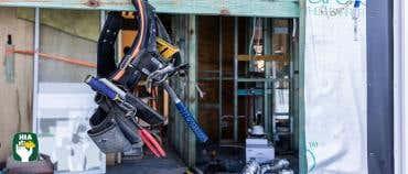 Meter Boxes in Brickwork and Steel Lintels