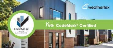 Weathertex is now CodeMark certified