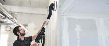 Festool PLANEX 2 long-reach sander is revolutionising plaster and paint sanding