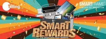 Tilling's Smart Rewards for SmartJoist Floor Systems