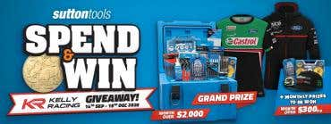 Spend & WIN with Sutton Tools