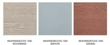 Weathertex replaces Ecowall with Weathergroove 1200mm